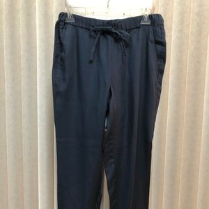 NWT Loft jogger pants steel blue size small.